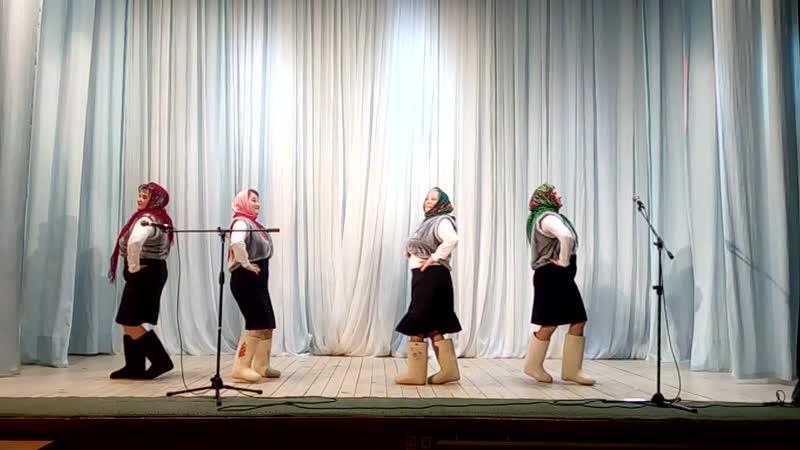 Танец Валенки Т/г ШОвк тугъяс Выступление в с. Усть- Вымь. Март 2018г.