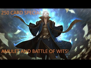[MODERN] THE 250 CARD AMULET BATTLE OF WITS SPECIAL! IT ACTUALLY WINS AND BREAKS THE MTGO CLIENT!