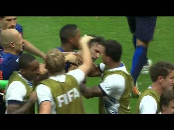 Gol de Van Persie contra a Espanha Van persie goal