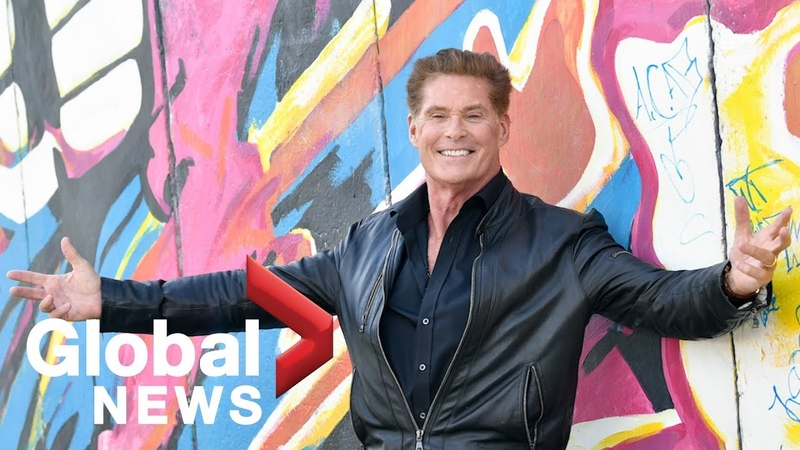 30 years after the fall of the Berlin Wall 'the Hoff' is back