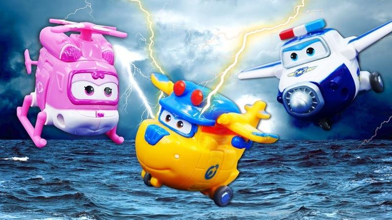 Игрушки из мультика Супер крылья. Дизи и Донни попались пиратам! Приключения на острове!