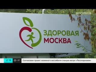 Завершили свою работу 13 площадок возле медицинских павильонов Здоровая Москва