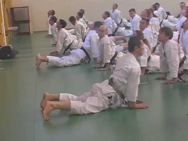 Karate warming up exercises / Разминка в каратэ