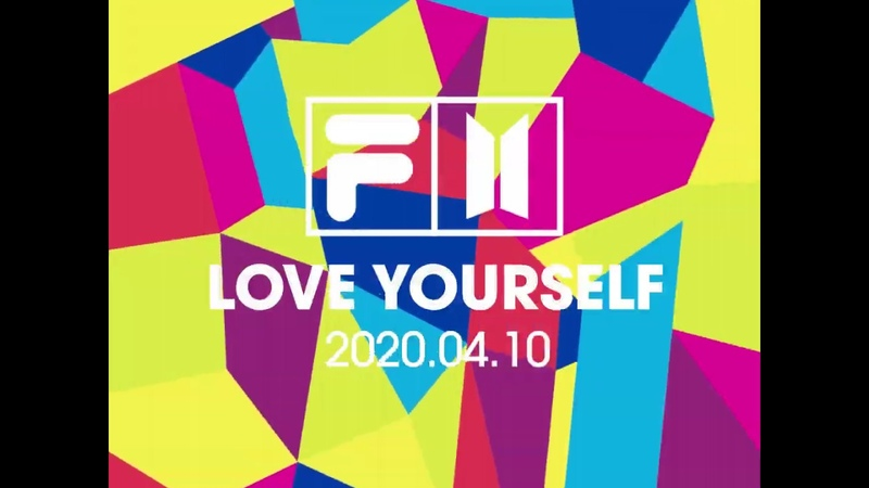 FILA X BTS 'LOVE YOURSELF' Collection Teasing