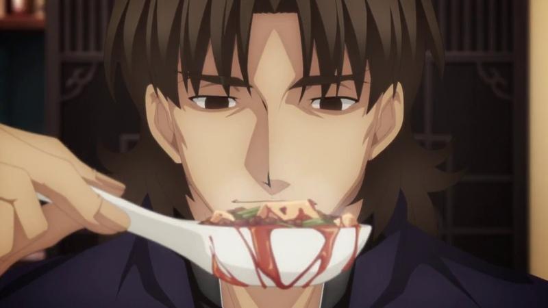 Kirei eats extremely spicy mapo tofu