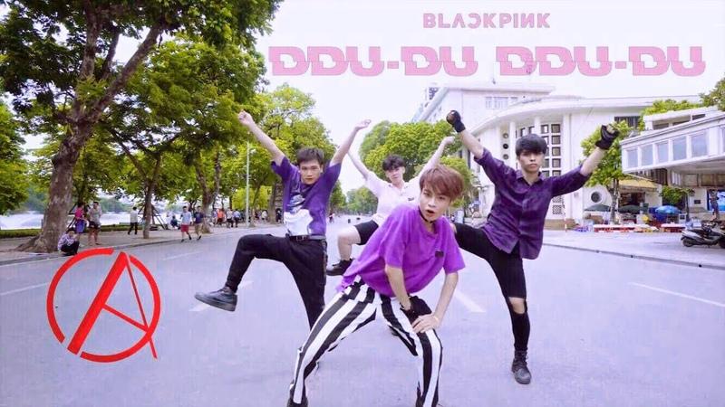 KPOP IN PUBLIC CHALLENGE BLACKPINK 블랙핑크 '뚜두뚜두 DDU DU DDU DU ' DANCE COVER by C A C Vietnam