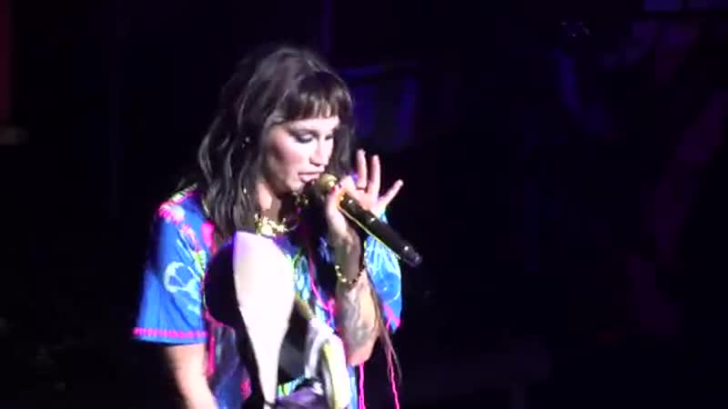 Kesha, Boots (live), The Masonic, San Francisco, CA, Dec. 5, 2019