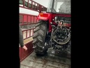 China shandong produce 120hp farm tractor mini tractor greenhouse tractor