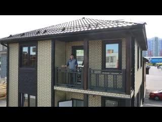 Фасадные панели. Комбинации и сочетания. Обзор дома