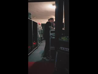 Behemoth rehearsal