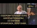 Н.Левашов: Лечебный сеанс 1, включающий снятие блокировок, день 1-й Архангельск, 19.03.2010