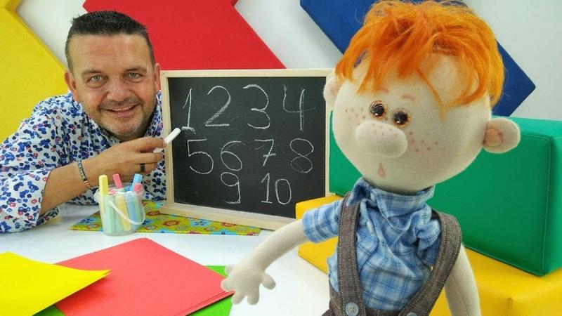 ¡Aprende los números con Josep y Pecas Vídeos para niños