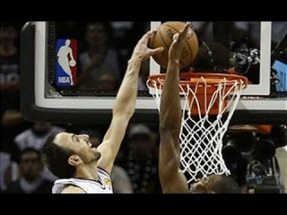Manu Ginobili's Monster Dunk from All Angles!