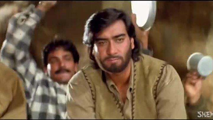0 Shaam Hai Dhuaan Dhuaan Diljale Songs Ajay Devgan Madhoo Amrish Puri Poornima Filmigaane