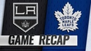 Kapanen scores two to lead Maple Leafs to 4 1 win