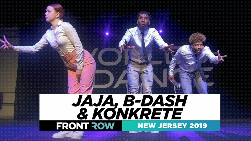 Jaja B dash Konkrete FRONTROW World of Dance New Jersey 2019 WODNJ19