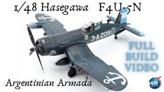 1/48 Hasegawa F4U-5N - Argentina Armada Corsair Build
