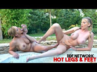 Danielle maye, loulou petite [hd porn, lesbian, foot fetish sex, feet, blonde, big tits, big ass, busty, legs, worship]