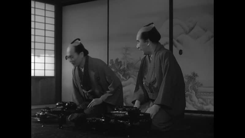 The Crucified Lovers 1954 dir Kenji Mizoguchi Рассказ Тикамацу 1954 Режиссер Кэндзи Мидзогути