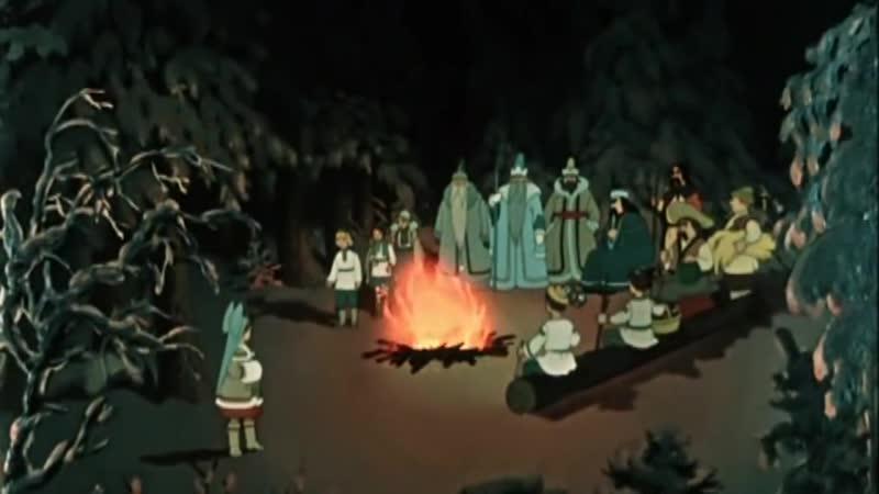 Двенадцать месяцев 1956 Страна СССР Русские мультфильмы