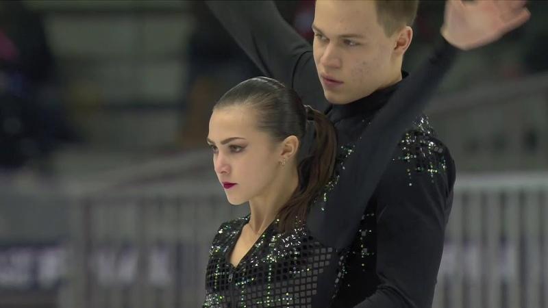 Аполлинария Панфилова и Дмитрий Рылов короткая программа Финал Гран при среди юниоров 2019