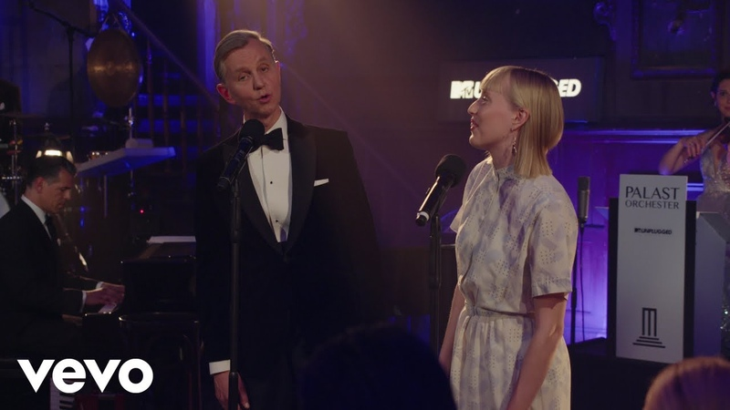Max Raabe Palast Orchester Guten Tag liebes Glück MTV Unplugged ft LEA