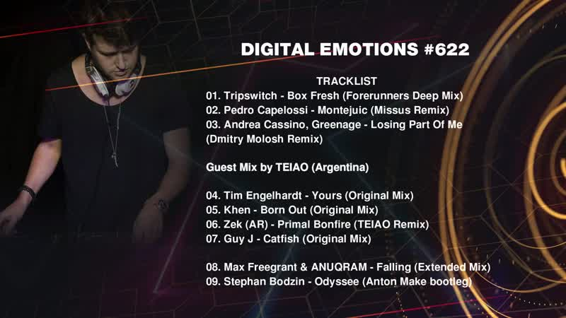 FONAREV - Digital Emotions # 622. Guest Mix by TEIAO (Argentina)