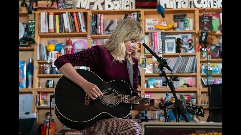 Taylor Swift NPR Music Tiny Desk Concert