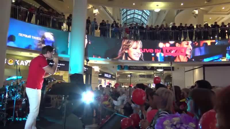 Открытие концерта LG OLED TV Атриум