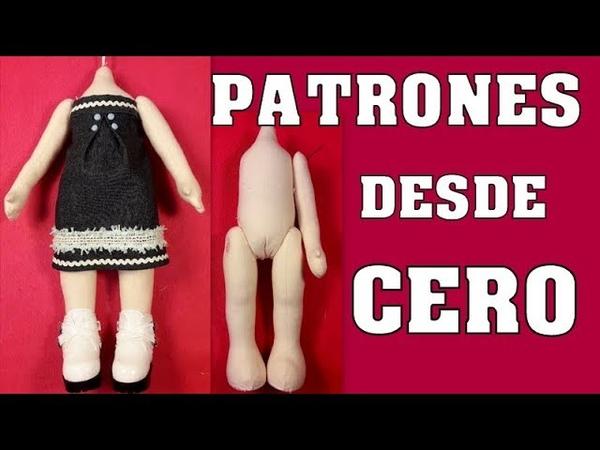 TUTORIAL PATRÓN DE MUÑECA DESDE CERO video 380