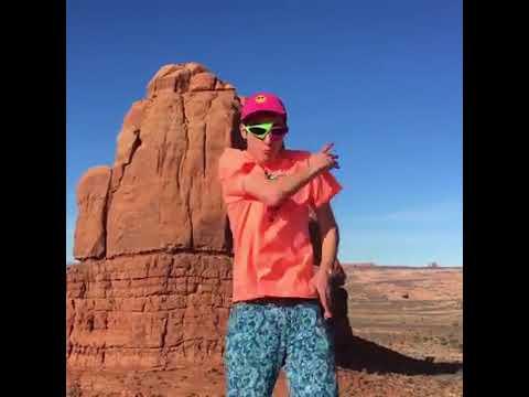 @RoyPurdy Roy Purdy dancing in desert Will rock you