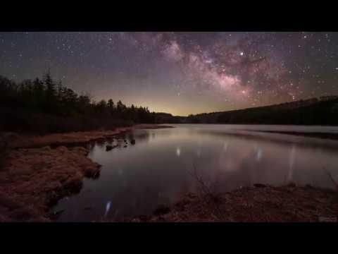 The Night Sky at Spruce Knob, WV - 4K Timelapse