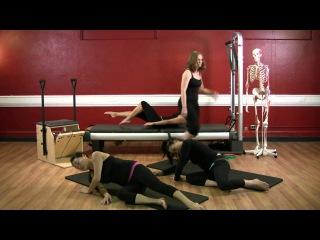Upside-Down Pilates - Mat Work - Pilates Workout 43 - Full 30 Minutes - HD
