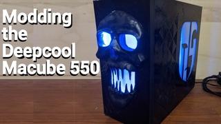 Deepcool Macube 550 Case Modding Timelapse