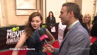 Chloë Grace Moretz - MTV Movie Awards 2013 - Popsugar Interview