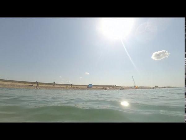 Погружаюсь под воду в море с action камерой с аквабоксом 09 августа 2020 года