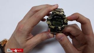 Часы Casio GMD-S6900CF-3E. Обзор и настройка G-Shock.