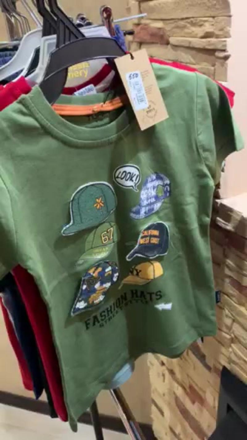 футболки и шорты для мальчиков с 1 до 8 лет