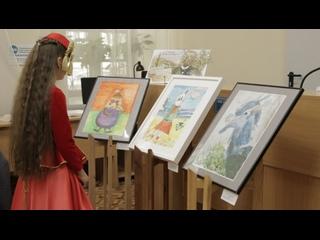 В Акмесджите открылась выставка картин маленьких художников