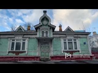 Деревянный жилой дом Страховых на улице Гастелло, признанный памятником архитектуры