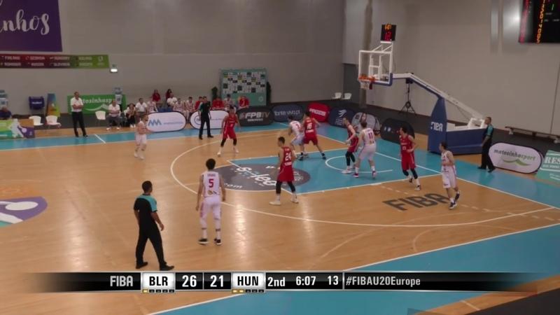 Дрюков_Highlights_EM2019_U20NT_Belarus
