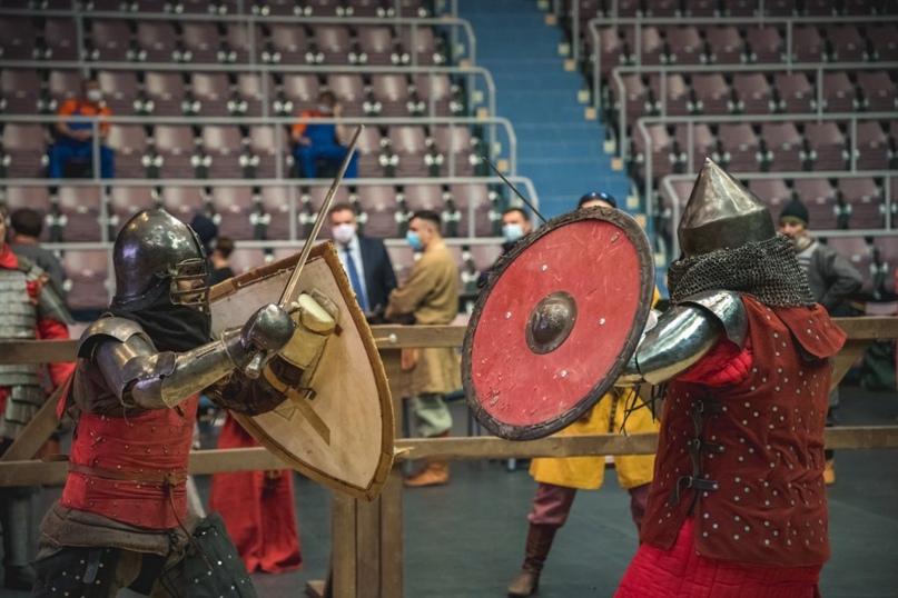 Соревнования по историческому фехтованию прошли в Оренбурге