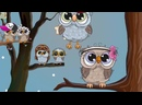 Песенка Совы. Детские песни в мультиках для детей слушать онлайн на канале как с