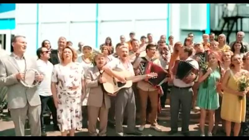 Юрий Щербаков Спустилась ночь Песня из сериала Братья по обмену