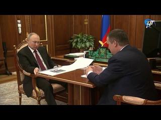 Губернатор Андрей Никитин прокомментировал итоги встречи с Владимиром Путиным