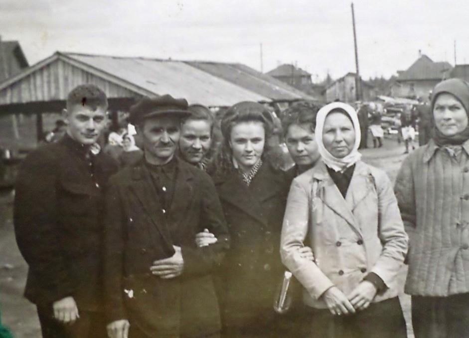 Фото конца 1940-ых - начала 1950-ых годов,