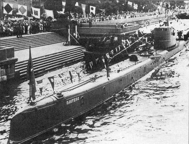 Подводная лодка «Пантера», 1935 год