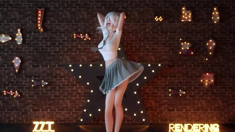 Hip Sway TikTok Dance HAKU MMD