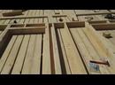ч.3 Каркасный дом 6 на 6 своими руками сборка наружных стен в одиночку Строительные хитрости