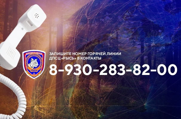 """Запишите телефон горячей линии ДПСЦ """"РЫСЬ"""":  8-930-283-82-00"""